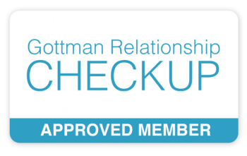 Gottman checkup badge - Approved Member